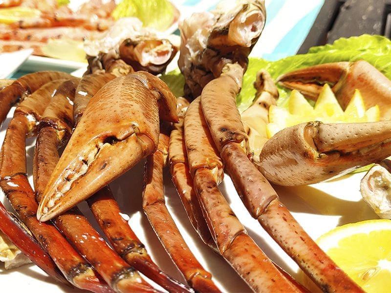 patas cangrejo